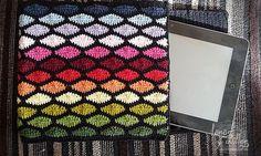 funda tablet crochet gratis. Crochet cover.