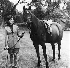 Jackie with Sardar, a gift from her Pakistani trip