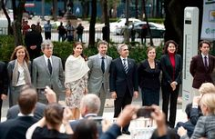 12 November 2013 Crown Prince Frederik and Crown Princess Mary Visit Mexico - Day 2