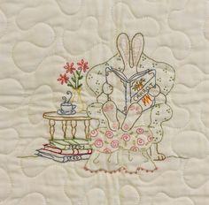 Quilt Pattern - Honneybunny's Garden Quilt - Crabapple Hill Studio