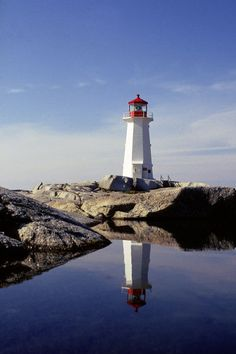 Peggy's Cove Lighthouse near Halifax; Canada, Nova Scotia  Bucket list completed 2014