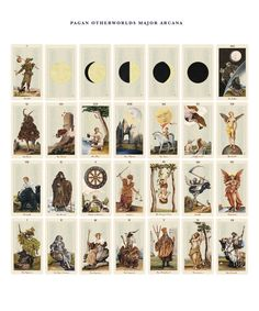 Pagan Otherworlds Tarot. Can't wait to get my paws on this one!