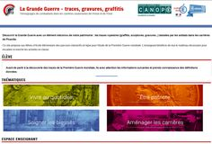 #JNA16 #ArcheoWeek La Grande Guerre - traces, gravures, graffitis @canope_80 @acamiens @jna_officiel