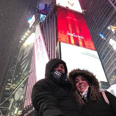 Disfrutando del frío en #timessquare #newyorkcity #pacheco #nyc