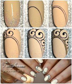 Step by Step en détail sur mon blog www.nail-art.fr  #tartofraises #nailart #nailsart #nails #notd
