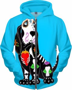 Hounds Of Love, Bassett Hound, Dogs Of The World, Pup, 13 Tattoos, Turquoise, Hoodies, Sugar Skull, Bliss