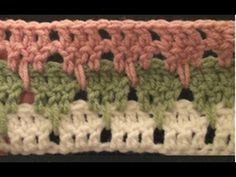 Larksfoot Crochet Stitch Video Tutorial