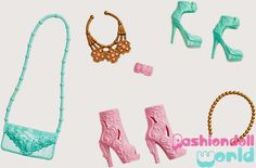 Barbie Stuff Pack 2015: