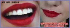 #batom #eudora #Make Red kiss batom EUDORA.