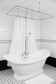 Vintage Double Slipper Pedestal Free Standing Bath Tub