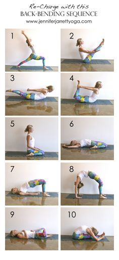 back bends sequence - the counter postures to life