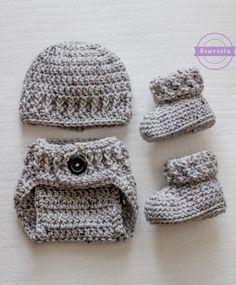 10 Adorable & Free Crochet Baby Set Patterns - Cute & Cozy Crochet