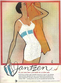 MCM Jantzen bathing suit ad