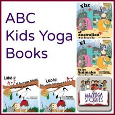 ABC Kids Yoga Books by Kids Yoga Stories with several giveaway opportunities