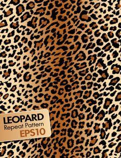 o leopardo material vetor de fundo