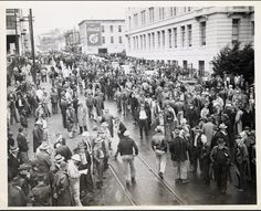 On this day 17 April 1944 members of the militant machinists' union Lodge 68 in San Francisco began an overtime ban in pursuance of a new contract. An array of forces from the employer to the government to the armed forces to the Communist Party was lined up against them. But the ban continued and was only broken when the government cancelled their collective agreement union shop dues collection and hiring hall and other workers were sacked blacklisted or drafted into the army - but they…