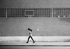 While running, by Marie Laigneau