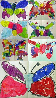 Symmetrical Butterflies | Deep Space Sparkle