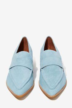 Jeffrey Campbell Belanger Suede Loafer - Shoes | Jeffrey Campbell