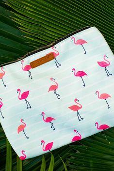 Flamingos Clutch | Pura Vida Bracelets