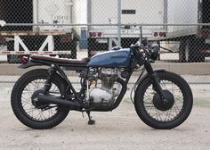 Honda CB360T Cafe Racer by Powder Monkees #motorcycles #caferacer #motos | caferacerpasion.com