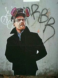 Breaking Bad Street Art in Canada