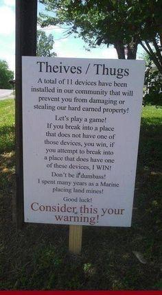 Neighborhood Watch - More neighborhoods need these signs!