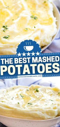 A delicious side dish to make ahead of all your holidays! These easy homemade mashed potatoes are the BEST and come out light and fluffy every single time. Get ready to dive into this bowl of creamy, buttery goodness! Optional add-ins for this Easter dinner idea included! Homemade Mashed Potatoes, Best Mashed Potatoes, Holiday Side Dishes, Easter Dinner, Side Dish Recipes, Potato Recipes, The Best, Holidays, Fruit