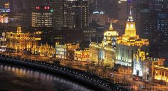 Shanghai, China - The Bund, historic waterfront area | In #China? Try www.importedFun.com for award winning #kid's #science |