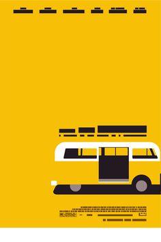 Você sabe qual é o filme? Posters minimalistas da Blanka   Design Inspirador