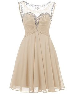 Dresstells® Short Chiffon Sweetheart Prom Dress With…