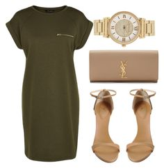 """""""Walking this lonely road.My love for You it shows.I'll give you my heart & soul."""" by bria-queen-ovoxo ❤ liked on Polyvore featuring Giuseppe Zanotti, Yves Saint Laurent and Michael Kors"""