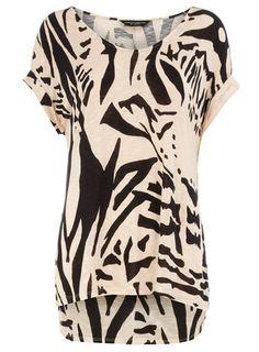 Mink Tiger Print T-Shirt
