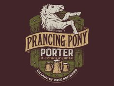 Prancing Pony Porter T-Shirt - LOTR T-Shirt is $11 today at TeeFury!
