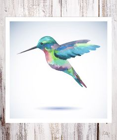 Printed on heavy-duty paper using premium inks for optimal quality, this unique memento sends waves of comfort and inspiration throughout the home. Watercolor Bird, Watercolor Paintings, Watercolors, Hummingbird Tattoo, Scripture Art, Art And Architecture, Beaded Embroidery, Painting Inspiration, Art For Kids