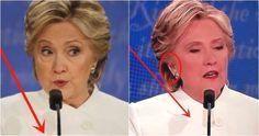 'Whisperer' Caught On Hillary's Hot Mic As Her Brain Freezes…