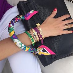 Hermes Kelly, twillies and bracelets.