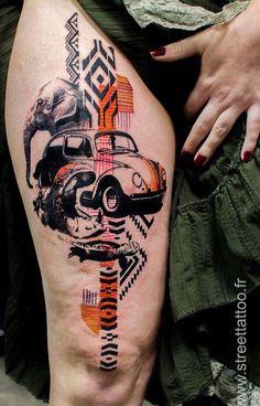 Klaim tattoo Lotusblume Tattoo, Tattoo Motive, Leg Tattoos, Body Art Tattoos, Tattoos For Guys, Sleeve Tattoos, Tattoos For Women, Cool Tattoos, Tattoo Designs