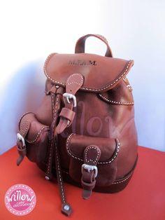 Awesome purse/backpack cake