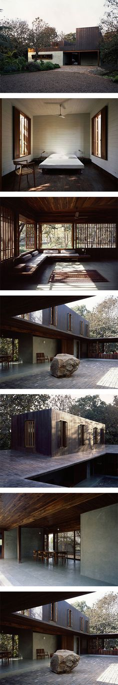 Copper House II in India by Studio Mumbai via Nuji.com