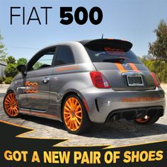 Fiat ALREADY looks amazing but even the most beautiful can use a custom look now and again! Fiat Models, Fiat 500 Pop, Fiat 124 Spider, Fiat Cars, Chula Vista, Cars For Sale, Convertible, City, Amazing