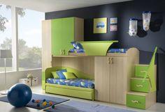 modern kids bedroom interior decor Minimalist Small Kids Bedroom, in Bunk Bed Designs, Kids Bedroom Designs, Bedroom Ideas, Bedroom Decor, Bed Ideas, Decor Ideas, Bedroom Styles, Modern Kids Bedroom, Kids Bedroom Furniture