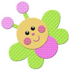 Diy Embroidery, Machine Embroidery, Embroidery Designs, Butterfly Clip Art, Butterfly Crafts, Baby Applique, Applique Patterns, Graduation Crafts, Applique Tutorial