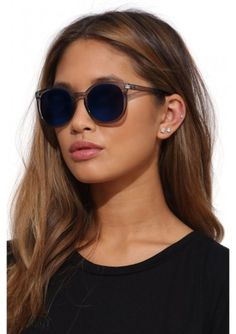Blue shades perfect for lazy days spent by the sea