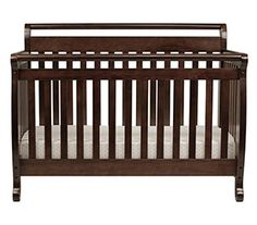 DaVinci Emily four in one convertible crib bedding with Toddler Rail, Espresso