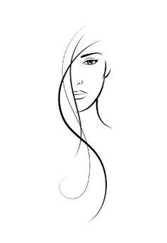 Premade Logo Design Modern Logo Hair Salon Logo by BrandCandi ...