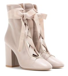mytheresa.com - Leather ankle boots - Luxury Fashion for Women / Designer clothing, shoes, bags
