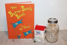 Make butter while reading The Butter Battle Book Happy Dr. Seuss Day! March 2