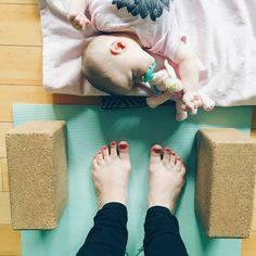 5 Fun Things to Do With a Newborn in Chicago — One Strange Bird baby yoga mom health exercise