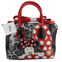 Disney Handbags, Disney Purse, Cute Handbags, Beautiful Handbags, Purses And Handbags, Fashion Handbags, Fashion Bags, Minnie Mouse Purse, Cute Disney Outfits